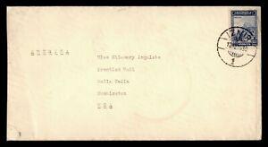 DR WHO 1939 TURKEY IZMIR TO USA  g11877
