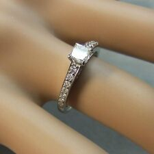 18ct gold second hand white gold diamond ring