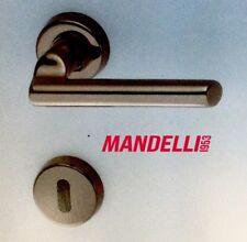 MANIGLIA PER PORTA MANDELLI serie SKATTO 471 NERO per porte interne in legno