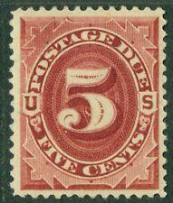 Usa : 1884. Scott #J18 Mog Fresh, Very well centered. Horizontal crease Cat $600