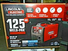 Lincoln Electric 125hd Weld Pak Flux Cored Magnum 100l Gun Wire Welder K2513 1