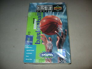 Factory Sealed 1995-96 Box Collectors Choice Upper Deck Basketball 15 Available
