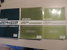 1992 bis 1998 Werkstatthandbuch Suzuki Swift SF416  Reparaturanleitung