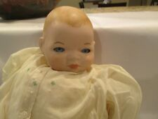 """Baby Doll Marked Grace S.Putnam Made in Germany 3.5"""" Head Cloth Body 13"""" total"""
