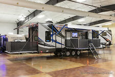 New 2018 40D12 4 Season Side Deck Slide Out Luxury 5th Fifth Wheel Toy Hauler