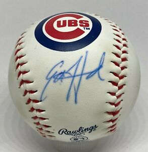 Ed Howard Signed Chicago Cubs Logo Baseball BAS WITNESSED Sticker ONLY Auction4
