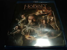 "COFFRET 2 BLU-RAY + 1 DVD NEUF ""LE HOBBIT 2 - LA DESOLATION DE SMAUG"""