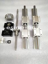 2x SBR20--2500/4000mm Linear Rail&RM1605--2500mm Ballscrew &BF12/BK12 Kit