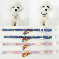Cute Pet Safety Collar Star Moon Pendant Neck Strap Cat Dog Neck Ring Supplies