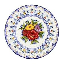 Hand-painted Traditional Portuguese Ceramic Decorative Wall Hanging Plate #482