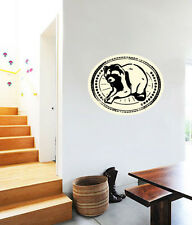 "Racoon Hiking Wall Decal Large Vinyl Sticker 25"" x 20"""