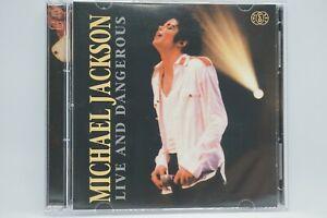 Michael Jackson - Live And Dangerous  2xCD Album (Live Recording) - OOP/RARE