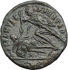 CONSTANTIUS II Constantine the Great son Ancient Roman Coin Battle Horse  i54902