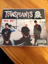The Transplants - DJ, DJ CD Single - Tim Armstrong Travis Barker rancid
