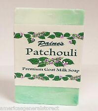 Paine's Patchouli Premium Goat Milk Soap 4.5 oz bar fresh Maine made all natural