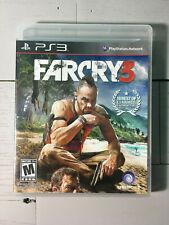 Far Cry 3 (Sony PlayStation 3, 2012) COMPLETE CIB