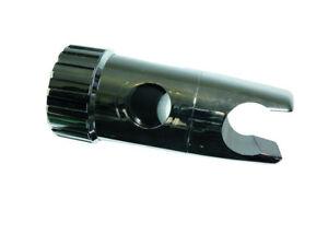 *Pkt of 24 - Shower Slider Bracket Chromed Plastic Holder To Fit 19Mm Rail