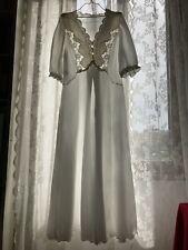 sissy crossdresser sexy negligè satin nightgown camicia da notte taglia IV