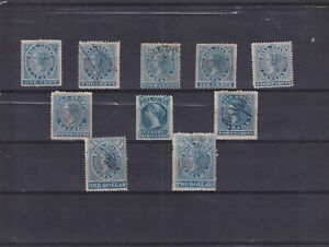 0459  Canada ( revenu ) 1864 First Bill issue Nice lot see scan