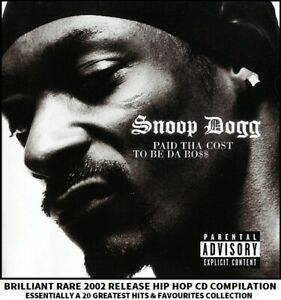 Snoop Dogg - A Very Best Essential 20 Greatest Hits Collection - 00's Hip-Hop CD