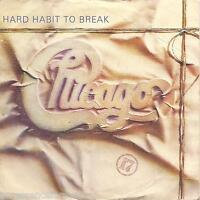 "CHICAGO - Hard Habit To Break (UK 2 Tk 1984 7"" Single PS)"