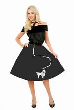 """BLACK POODLE SKIRT"" - ADULT PLUS 3X HALLOWEEN COSTUME"