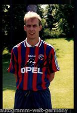 Mario Basler SUPER AK foto il Bayern Monaco 1996-97 (12) ORIG. firmato