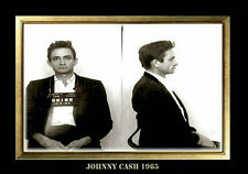 MAGNET Mug Shot JOHNNY CASH 1965 Photo Magnet Refrigerator