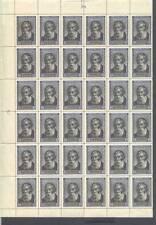 USSR Russia 1952 Mi 1658 1/2 Sheet ** M Bechterew Psychiatrist Medicine