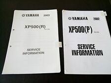 Yamaha XP 500 XP500 2002 2003 Service Information Manual Wartungsanleitung