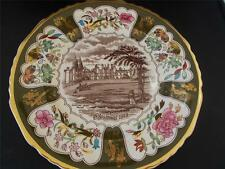 Vtg 1977 MASONS IRONSTONE Xmas Christmas Plate BUCKINGHAM PALACE LONDON MINT
