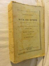 VITA ED OPERE Galileo Galilei Nunzio Vaccalluzzo E Boggio Lera Vallardi 1924 per