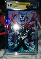 SYMBIOTE SPIDERMAN 1 MAYHEW VIRGIN VARIANT CGC 9.8 SS REMARKED IN COLOR, W/ COA!