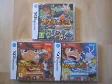 lot 3 jeux INAZUMA ELEVEN 1 2 3 TEMPETE DE FEU ET DE GLACE NEUF BLISTER DS 3DS