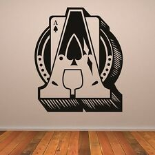 Pik as poker wall sticker wallpaper joyas de pared 55 x 65 cm murales