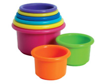 The First Years Stack Up Cups Toy Learn Baby