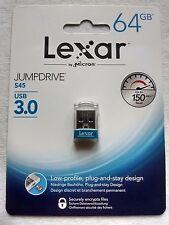 Lexar JumpDrive S45 64GB USB 3.0 Flash Drive