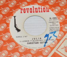 CHRISTIAN - GETRO Bungalow Bill / Julia (Beatles) 7 inch Record French