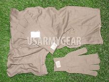USMC Neckerchief Cotton Knit Coyote Brown Headwrap Marine Scarf + 2 Glove Insert