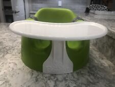 Bumbo Seat Green Used Good Condition With Tray