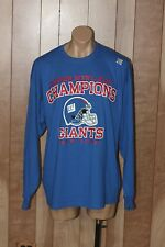 MEN'S NEW YORK GIANTS LONG SLEEVE SHIRT-SIZE: 2XL