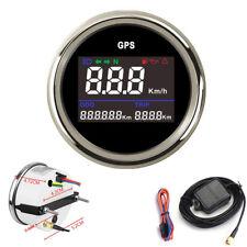 52mm Universal Digital GPS Odometer Speedometer Trip Meter For Boat Yacht Car