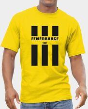 R 0082 TURKISH T-shirt for FENERBAHCE FANS Football Hooligans Casuals Ultras Tee