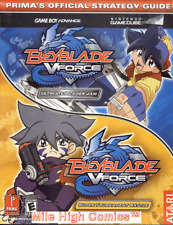 PRIMA STRATEGY GUIDE: BEYBLADE V-FORCE TPB (2003 Series) #1 Very Fine