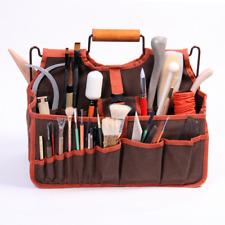 Xiem Studio Art Bag,Artist's Tools Bag,Art Supplies Carrier,pottery Tools Tote