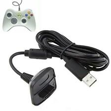 USB Charger Cable Lead For Microsoft Xbox 360 Wireless Controller Gamepad HOT V