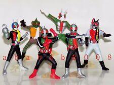 Bandai Masked Rider figure Part.1 gashapon (full set of 6 figures) 1997 year