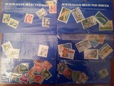 Australia Stamps 6 x Collections Lots Sets Sealed Unused Selected 1937 Issues