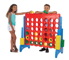 Giant Life Size Kids Connect Four Plastic Outdoor Classic Game Board Toy, Large