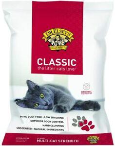 Dr. Elsey's Premium Clumping Cat Litter 18 lb.